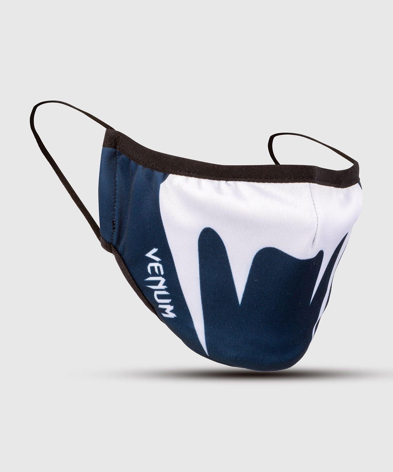 Защитная маска для лица Venum – Темно-синий/Белый