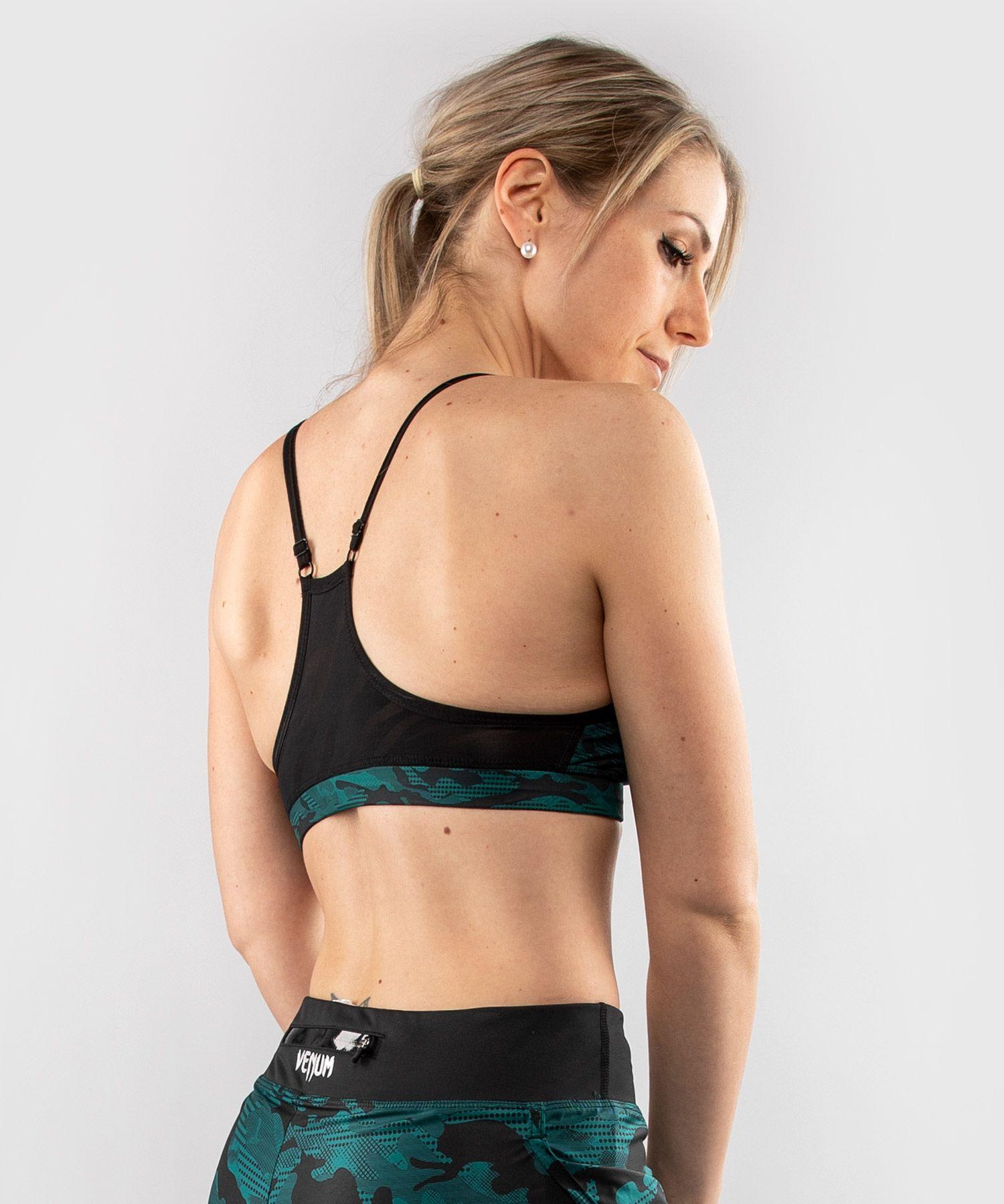 Venum Defender bras - for women - Black/Green
