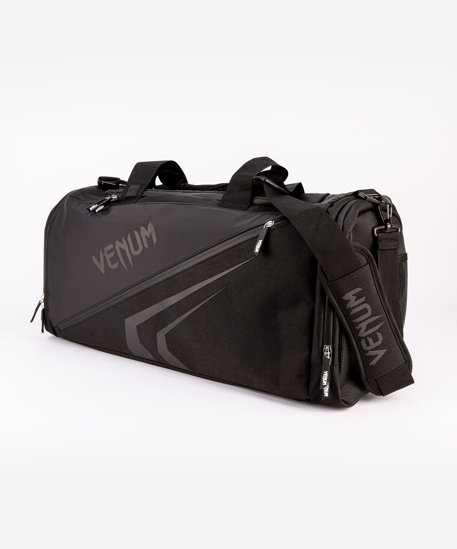 Venum Trainer Lite Evo Sports Bags  - Black/Black