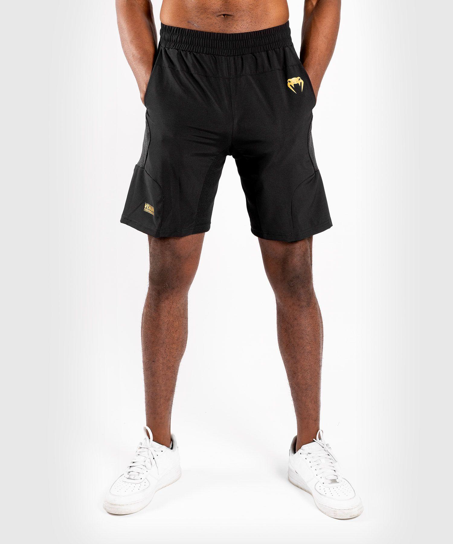 Шорты для тренировок Venum G-Fit - Черный/Золотой