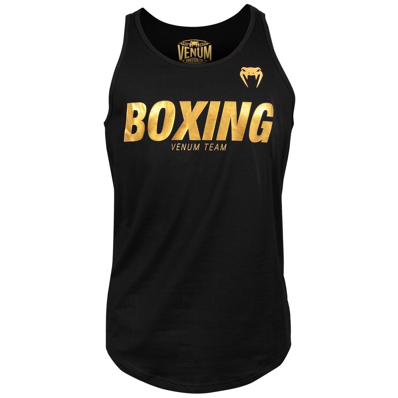 Venum Boxing VT Tank Top - Black/Gold