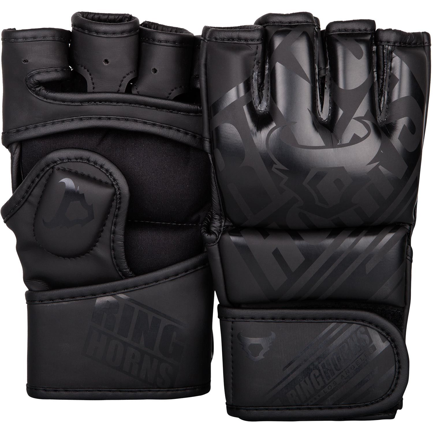 Ringhorns Nitro MMA Gloves - Black/Black