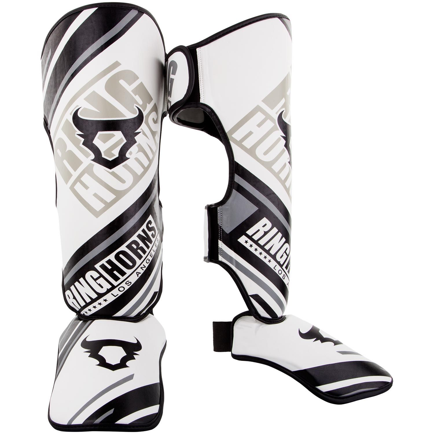 Ringhorns Nitro Shin Guards Insteps - White