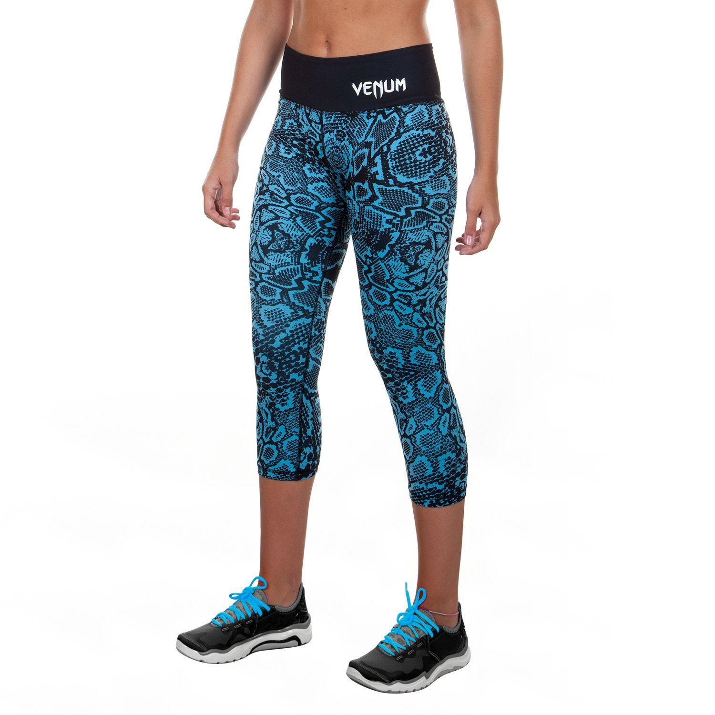 Venum Fusion Cropped Leggings - Blue