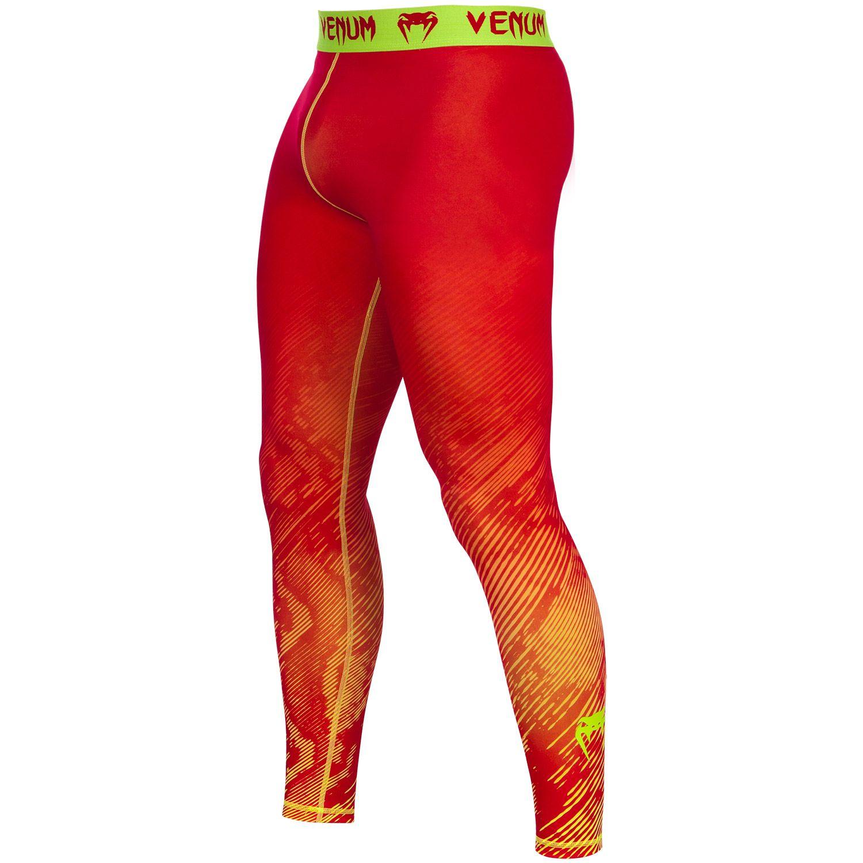 Venum Fusion Compression Tights - Orange/Yellow