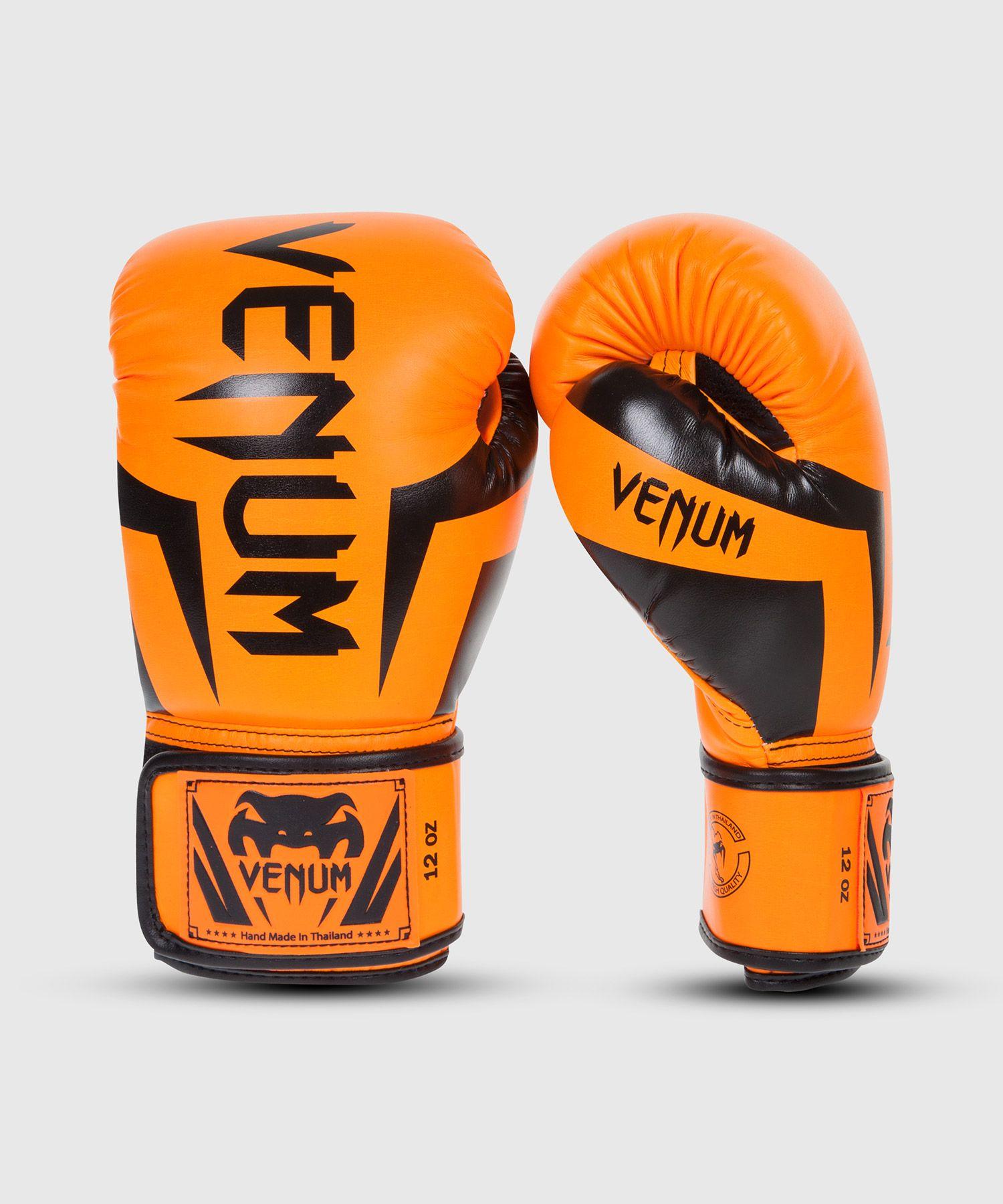 Venum Elite Boxing Gloves - Orange