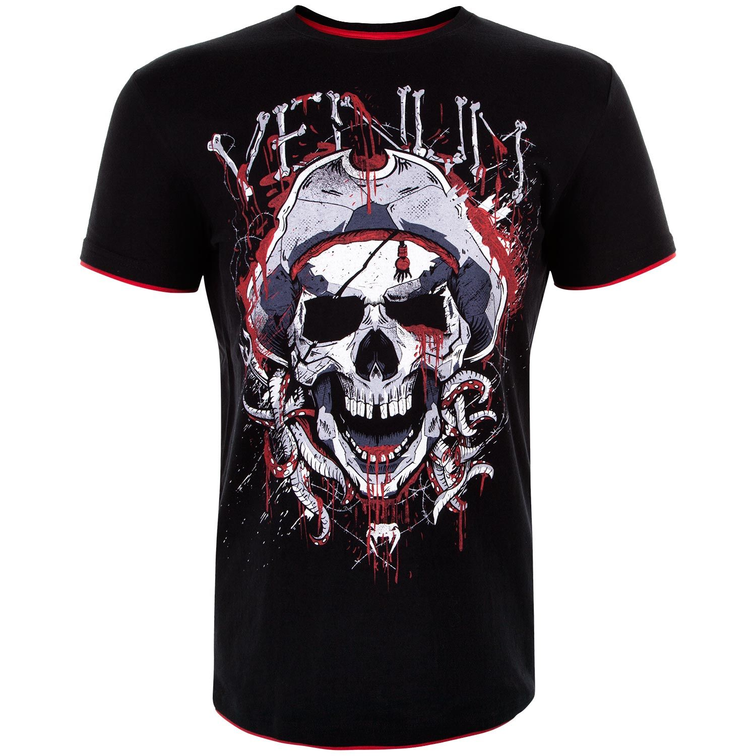Venum Pirate 3.0 T-shirt - Black/Red