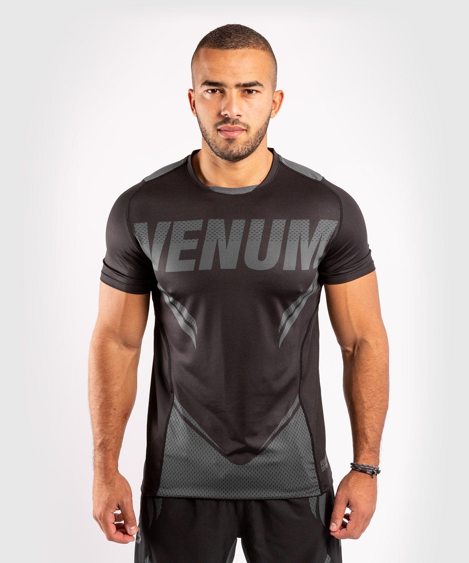 베넘 ONE FC 임팩트 드라이 테크 티셔츠 - 블랙/블랙