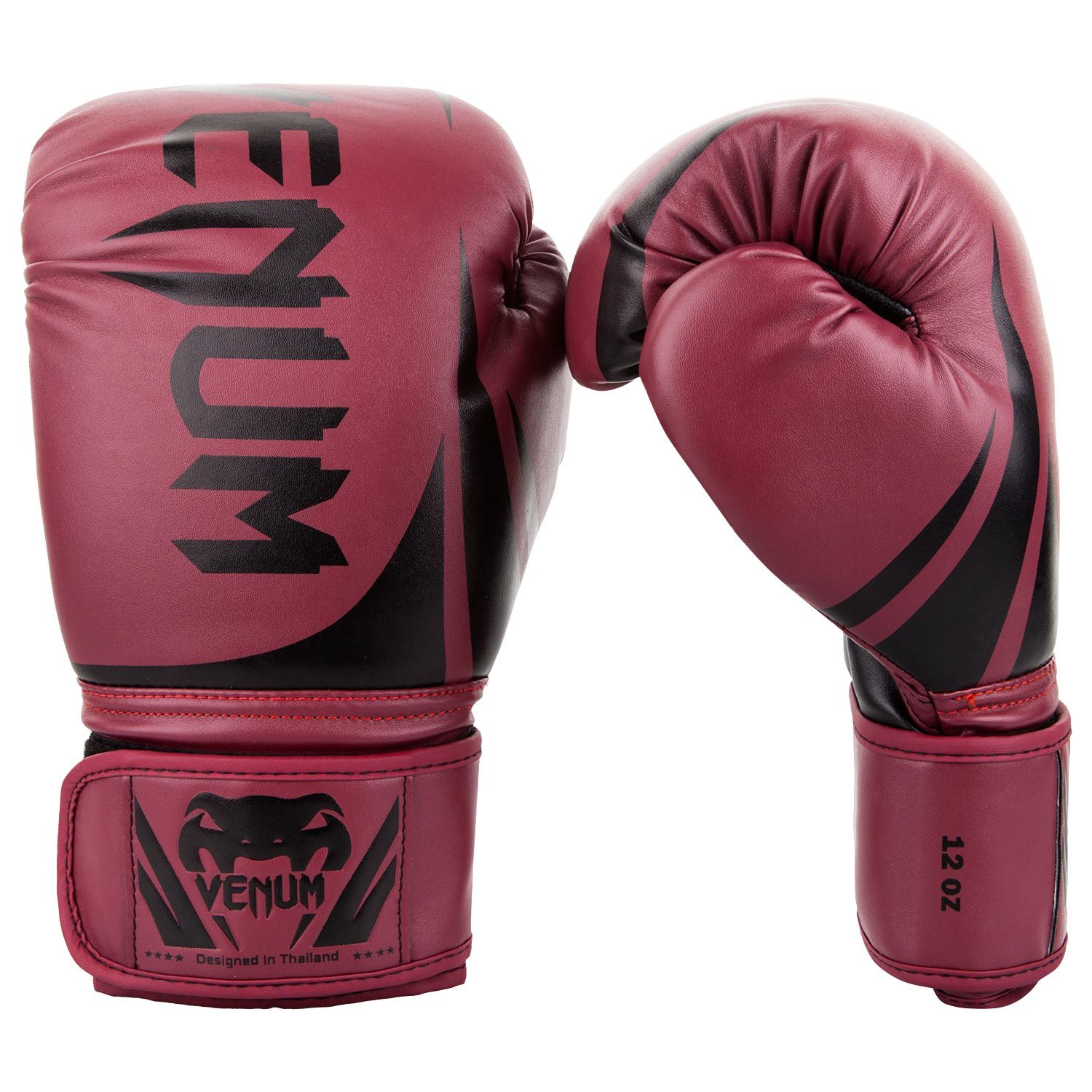 Venum Challenger 2.0 Boxing Gloves - Burgundy/Black