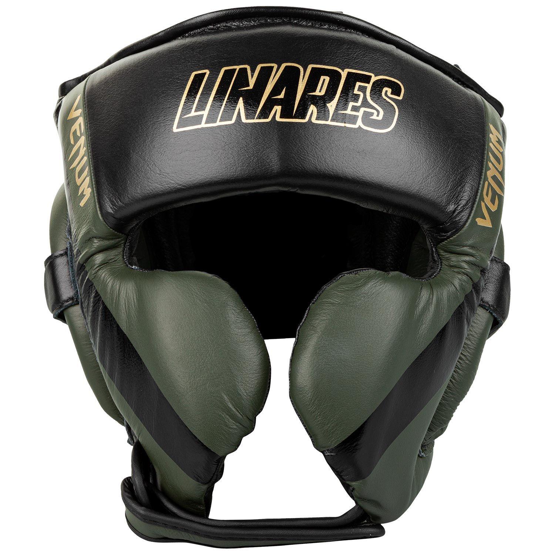 Venum Pro Boxing Headgear Linares Edition - Khaki/Black/Gold