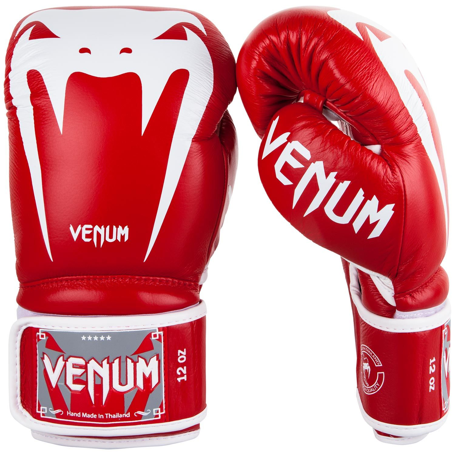 Venum Giant 3.0 Boxing Gloves - Nappa Leather - Red