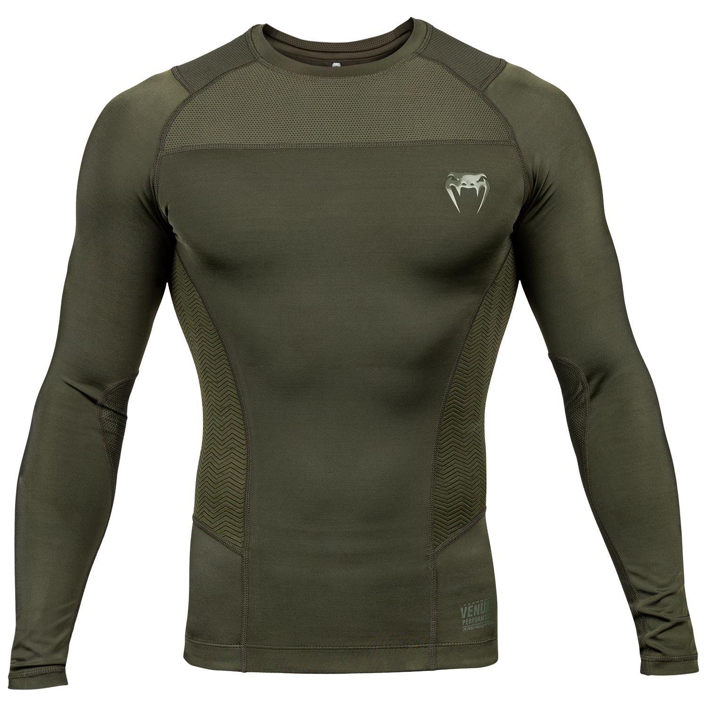 Venum G-Fit Rashguard - Long Sleeves - Khaki