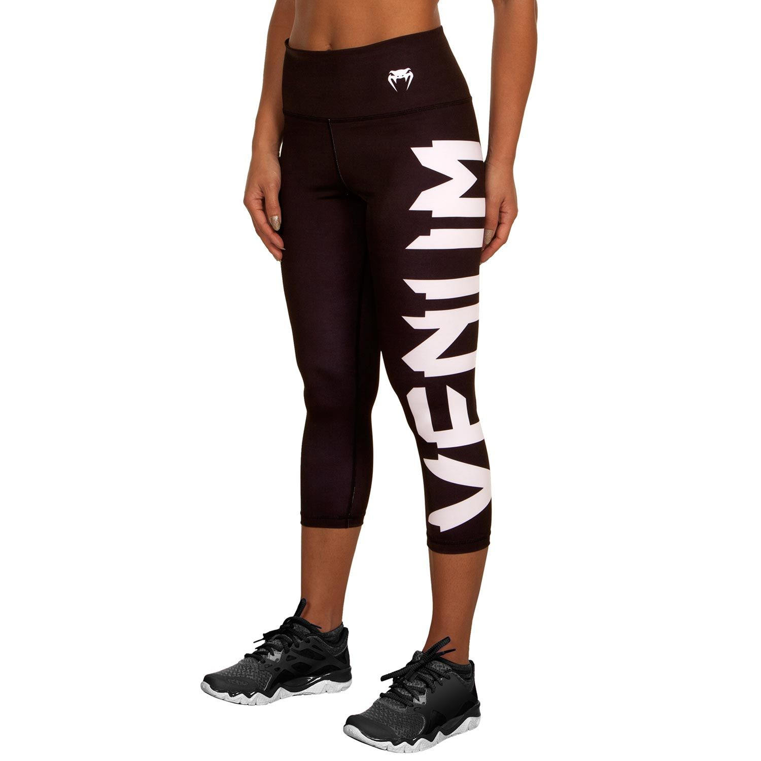 Venum Giant Cropped Leggings - Black