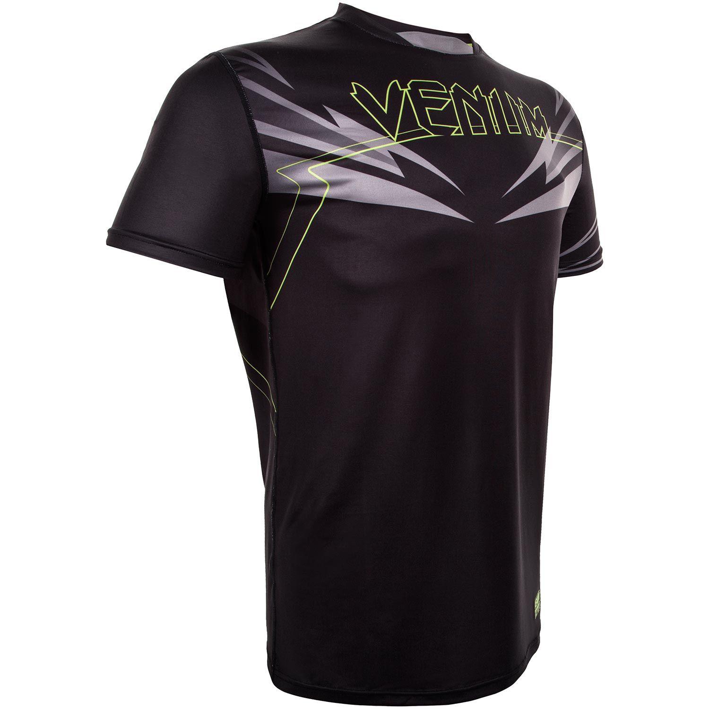 Venum Sharp 3.0 Dry Tech T-shirt - Black/Neo Yellow