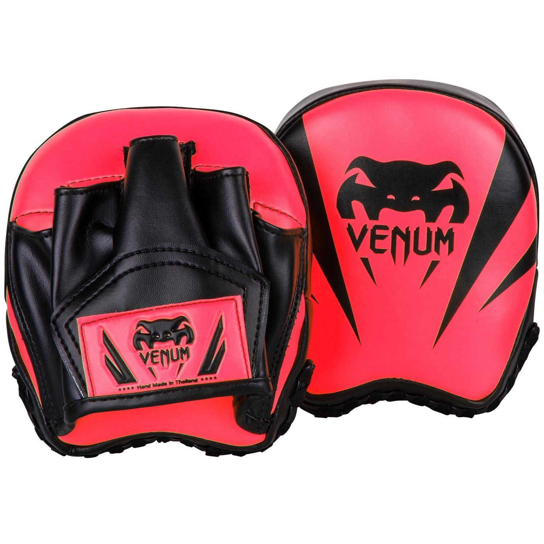 Боксерские лапы Venum Elite Mini - Нео-розовый