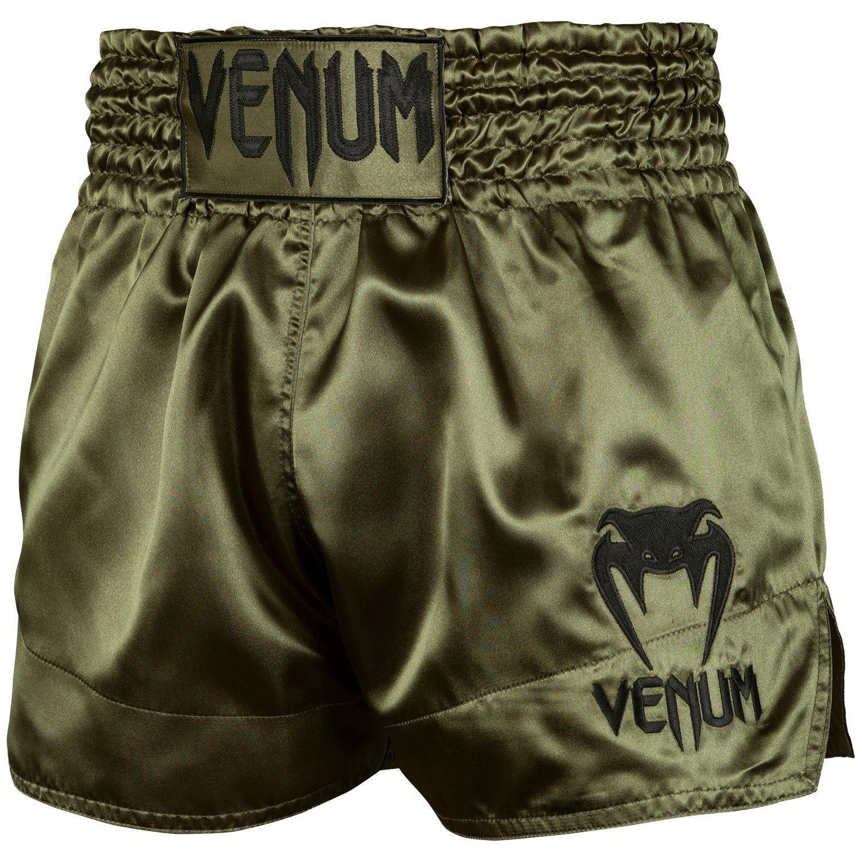 Шорты для тайского бокса Venum Classic - Хаки/Черный