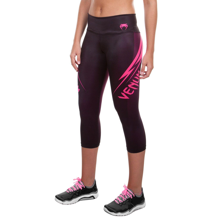 Venum Razor Leggings - Black/Pink