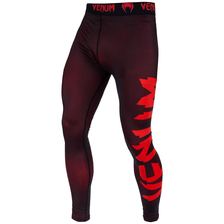 Venum Giant Compression Tights - Black/Red