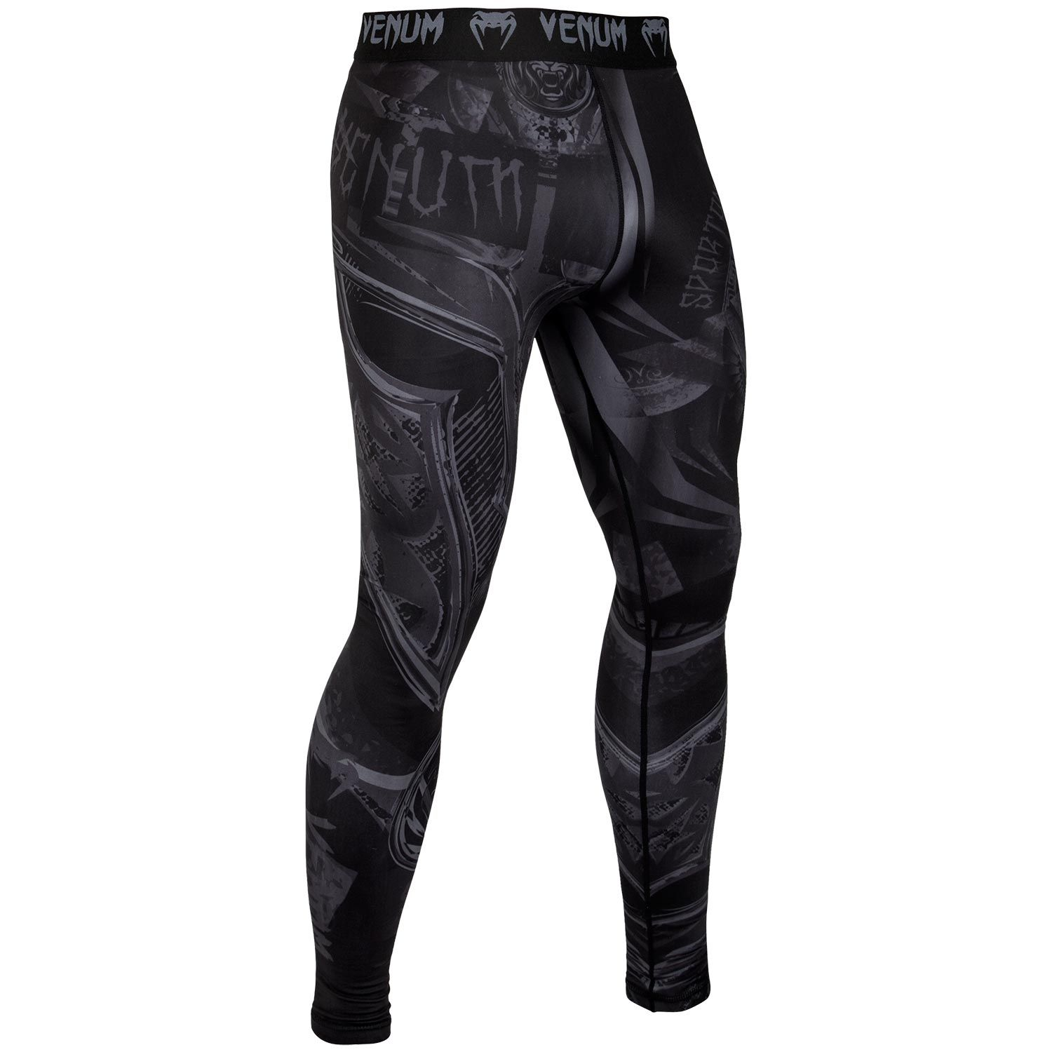 Venum Gladiator 3.0 Compression Tights - Black/Black