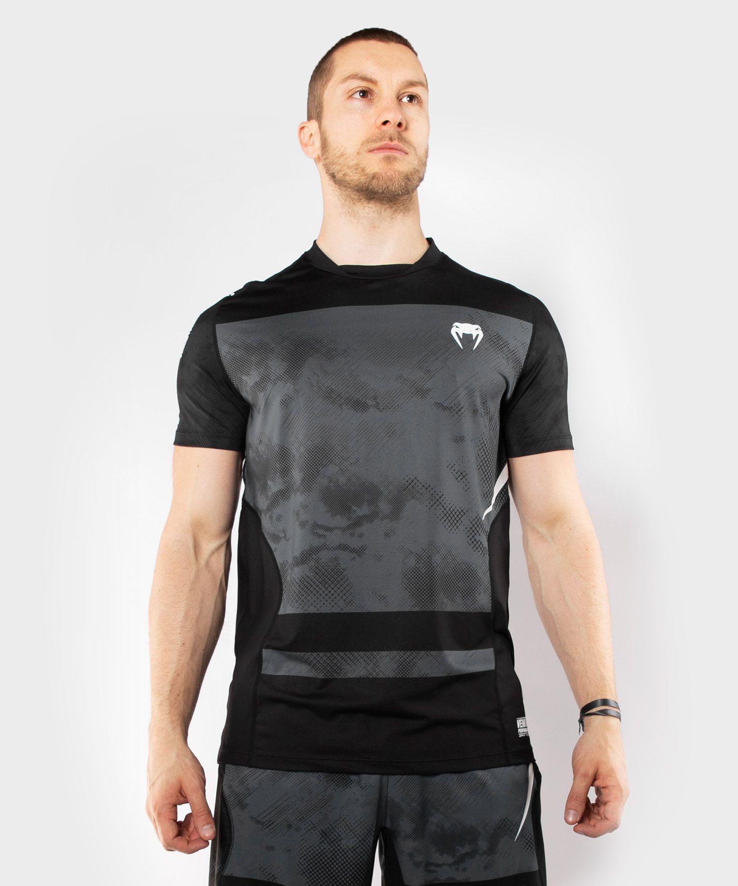 Футболка  Dry Tech Venum Sky247 - Черный/Серый