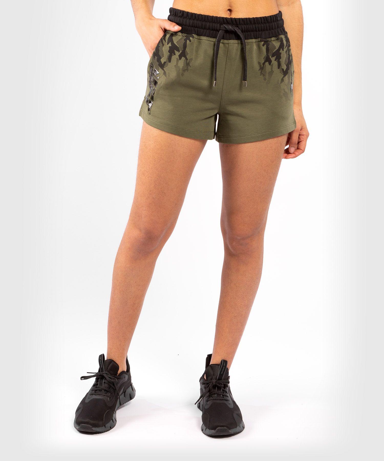 UFC Venum Authentic Fight Week Women's Shorts - Khaki