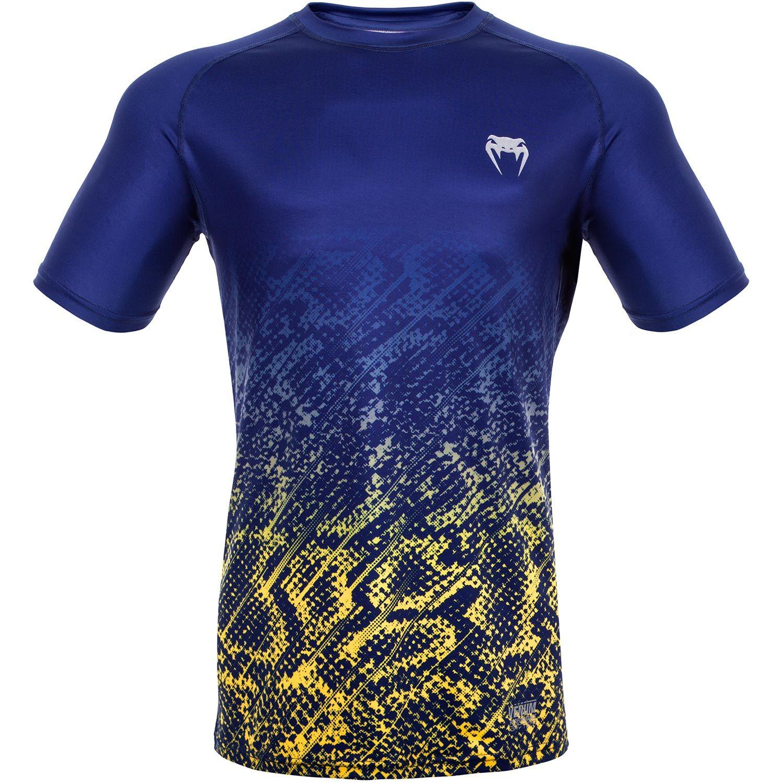 Venum Tropical Dry Tech T-Shirt - Blue/Yellow