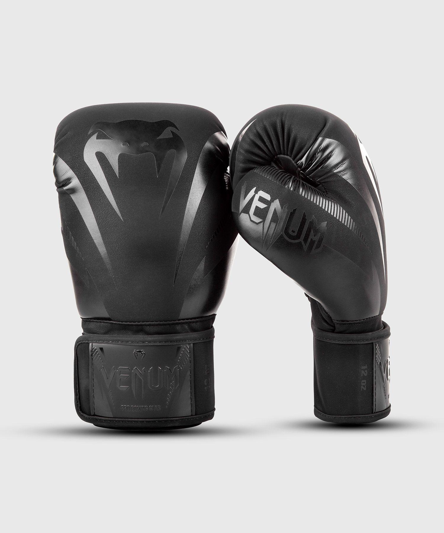 Venum Impact Boxing Gloves - Black/Black
