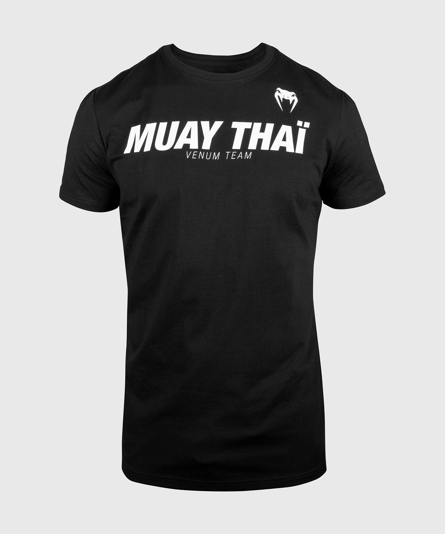 Футболка Venum Muay Thai VT — черный/белый