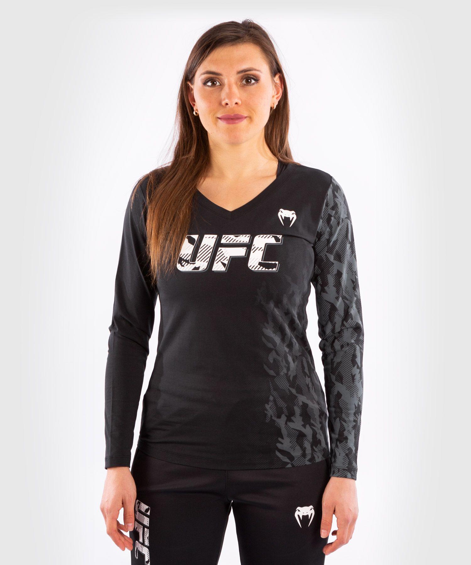 UFC Venum Authentic Fight Week Women's Long Sleeve T-shirt - Black