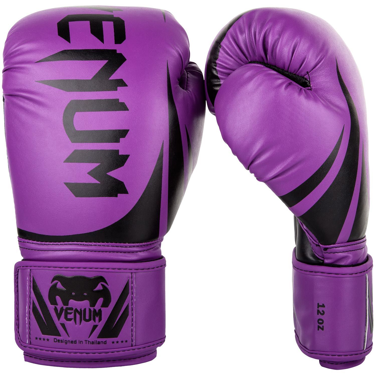 Venum Challenger 2.0 Boxing Gloves - Purple/Black