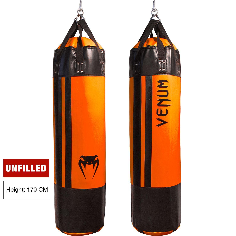 Saco de Boxeo Venum Hurricane  - 170 cm - Vacío - Negro/Neo Naranja