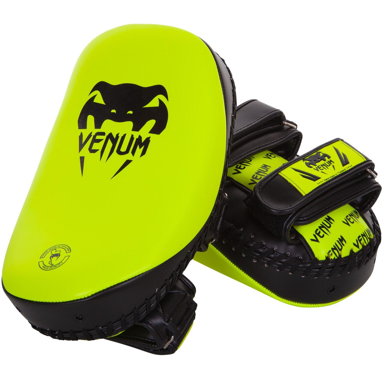 Venum Light Kick Pad (Pair) - Neo Yellow