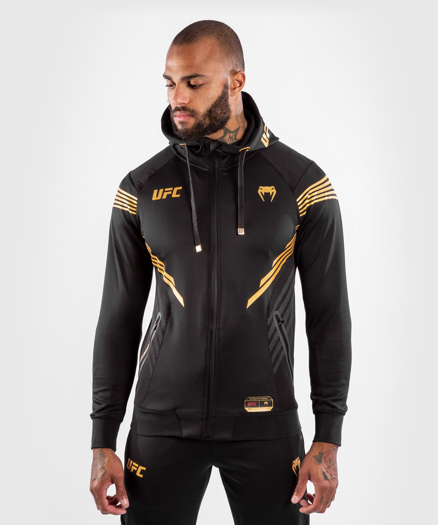 UFC Venum Authentic Fight Night Men's Walkout Hoodie - Champion