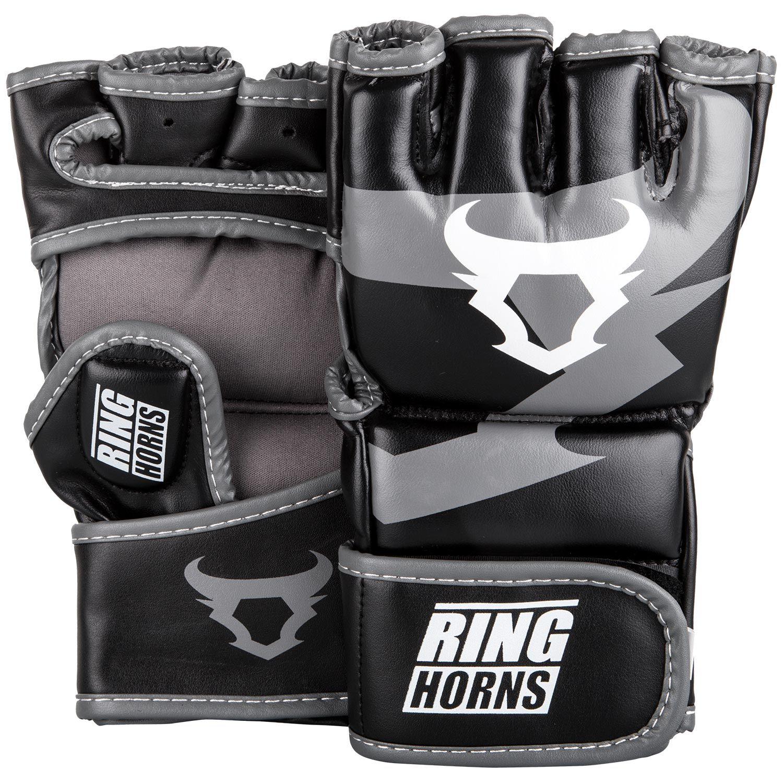 Перчатки для смешанных боевых искусств Ringhorns Charger – черные