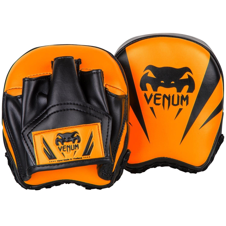 Боксерские лапы Venum Elite Mini - Нео-оранжевый