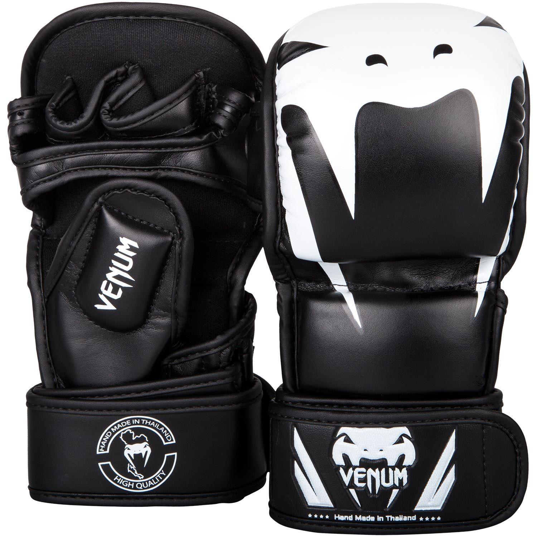 Venum Impact Sparring MMA Gloves - Black/White