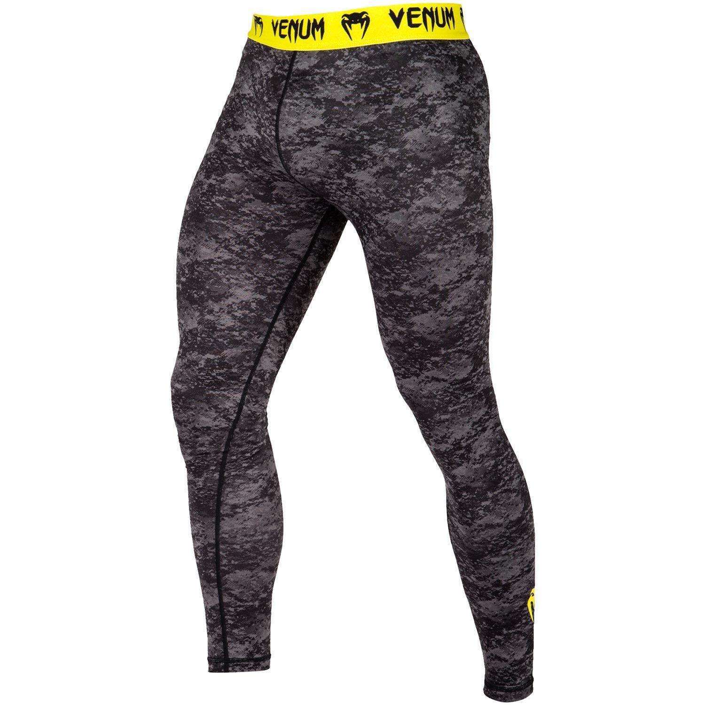 Venum Tramo Spats - Black/Yellow