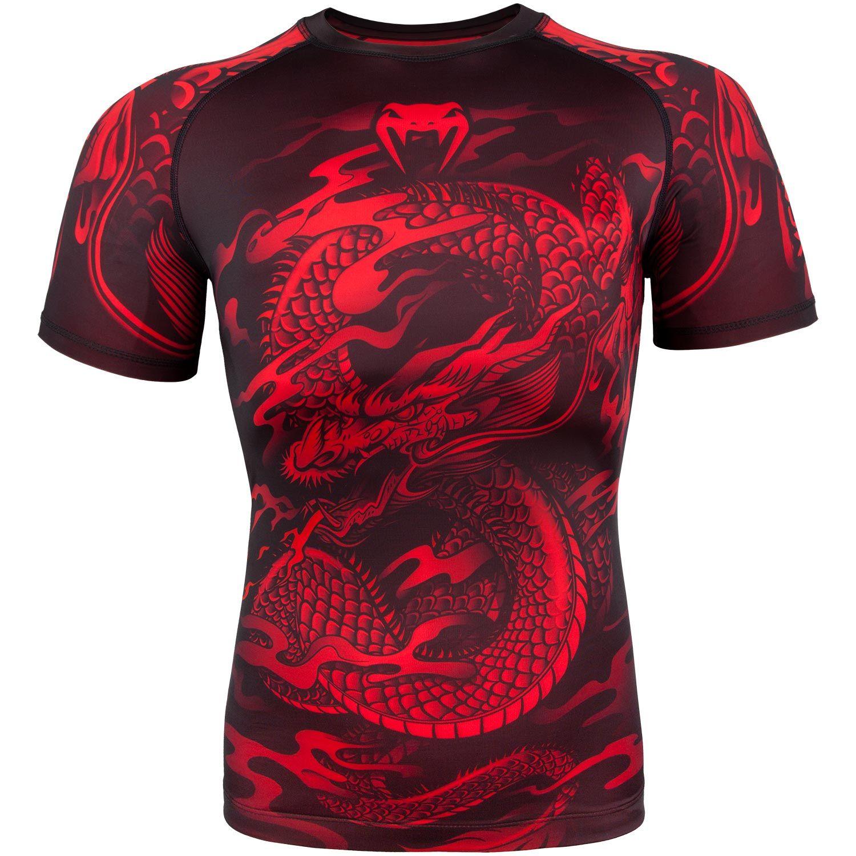 Venum Dragon's Flight Rashguard - Short Sleeves