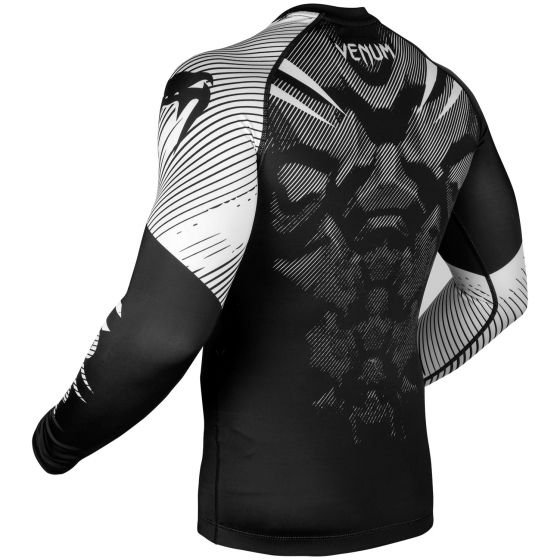 Venum NoGi 2.0 Rashguard - Long Sleeves - Black/White