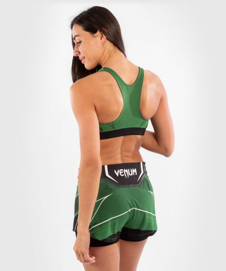 UFC Venum Authentic Fight Night Women's Sport Bra - Green