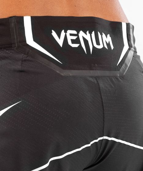 UFC 베넘 어쎈틱 파이트 나이트 여성 쇼츠 - 롱 핏 - 검정