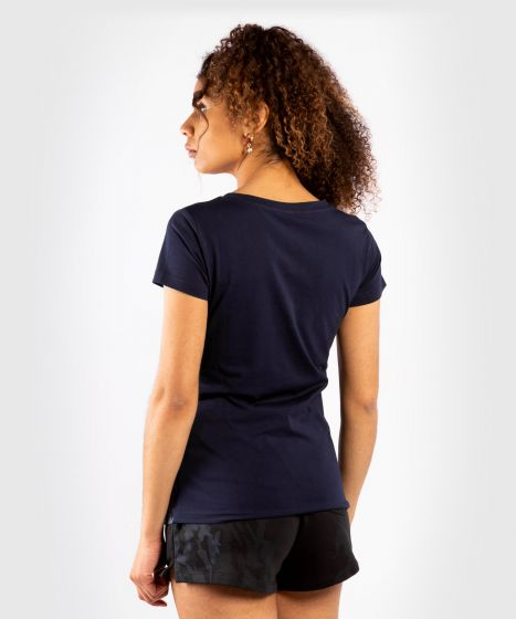 UFC Venum Authentic Fight Week Women's Short Sleeve T-shirt - Navy Blue