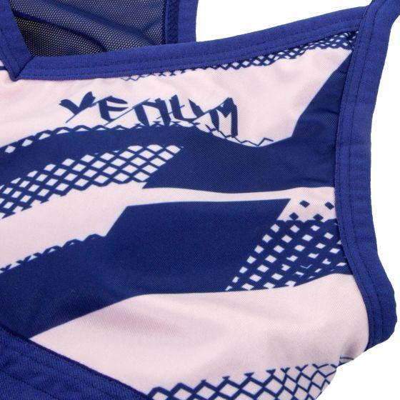 Venum Rapid Sports Bra - Navy Blue/Coral