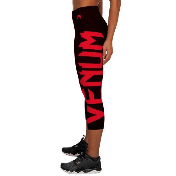 Venum Giant Cropped Leggings - Black/Red
