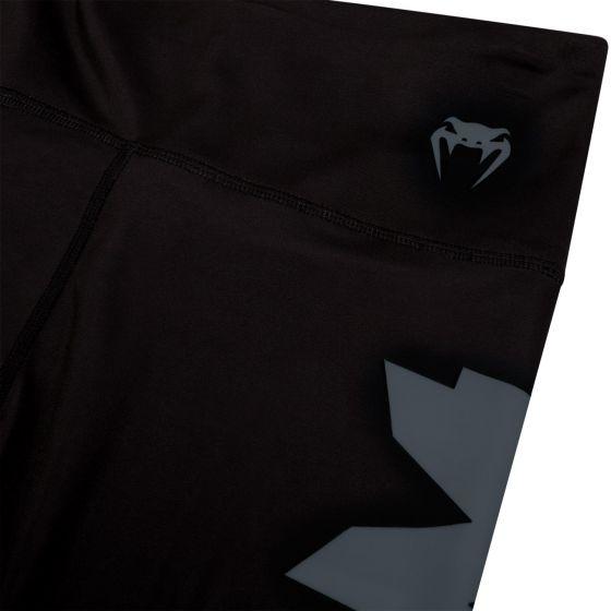 Venum Giant Cropped Leggings - Black/Grey