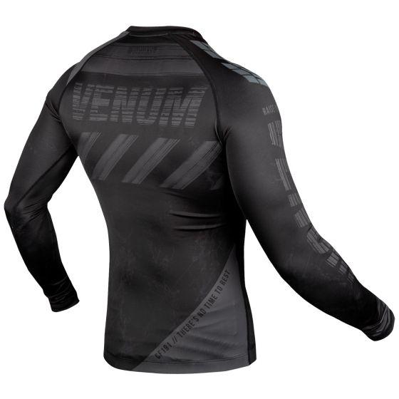 Venum AMRAP Compression T-shirt - Long Sleeves - Black/Grey