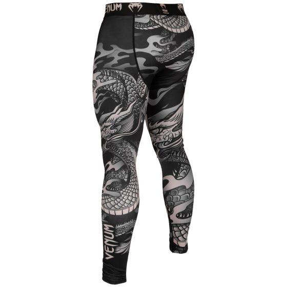Компрессионные штаны Venum Dragon's Flight - Черный/Песочный