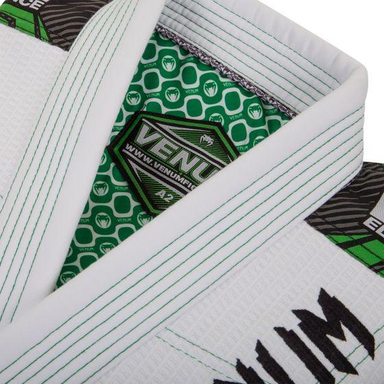 Venum Elite BJJ Gi - White/Green