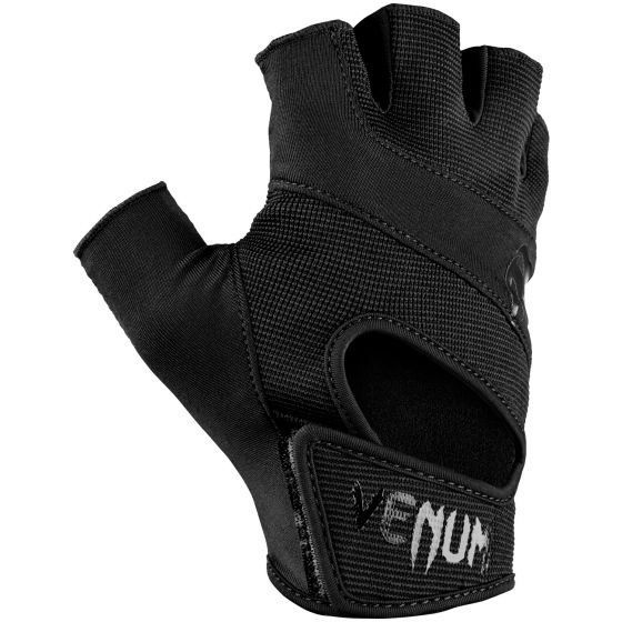 Venum Hyperlift Training Gloves - Black/Black