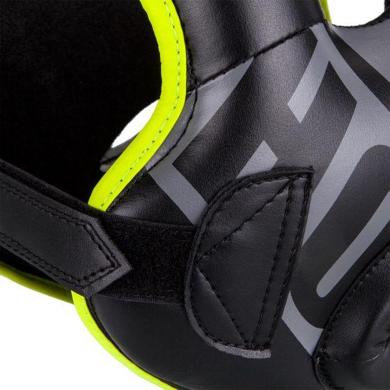 Ringhorns Nitro Headgear-Black/Neo Yellow